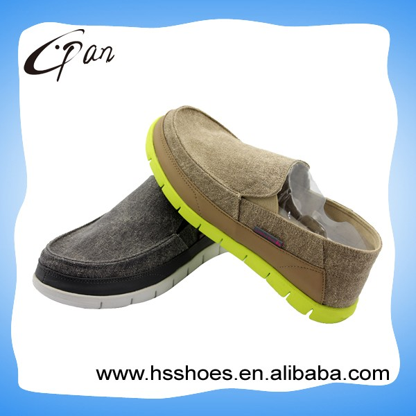 Popular style canvas shoes for men and boys