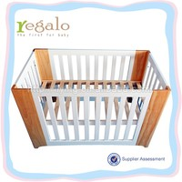 OEM new arrival baby cot dimensions