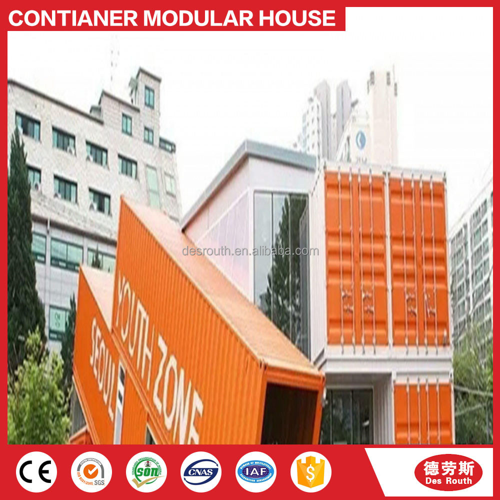 Luxcury 5 star modular 20ft 40ft shipping container hotel
