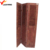 vintage retro red wooden privacy folding screen door
