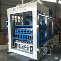 QT8-15 automatic brick making machine price/ hydraulic brick making machine line