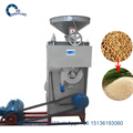 small Movable rice mill machine to remove rice husk and mill white rice grain roller mill
