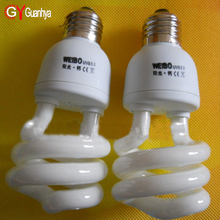 7w 9w 11w 15w 2w 30w 40w 50w 60w spiral energy saving light bulb CFL fluorescent lamp