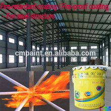 Intumescent fireproof coating Oil Ultra-thin fire retardant coating for steel structure