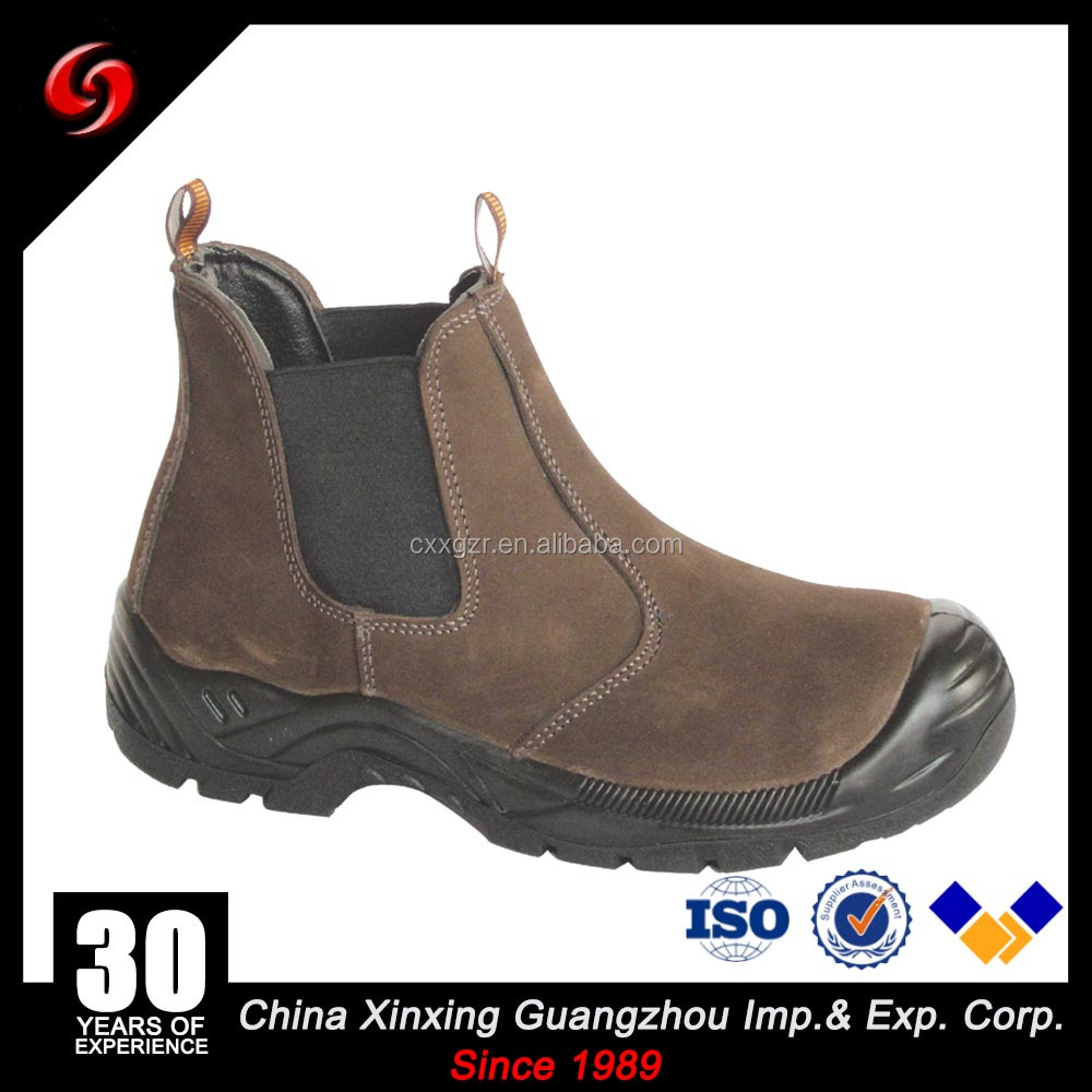 Tawney New Design Chelsea Boots Nubuck Leather Steel Toe Safety Shoes