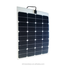 Solar Panel Whole Flexible 50W 60W 75W 100W 120W 135W Photovoltaic Laminated Solar Panel Manufacturers in China