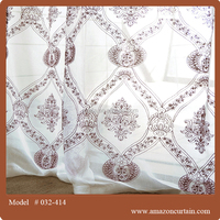2013 newest design for made to measure curtains