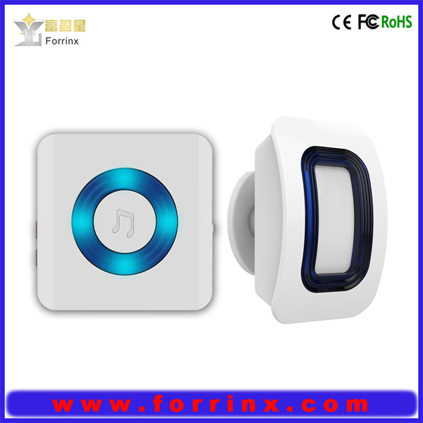 Infrared Wireless Home Security Motion Detector Sensor Human Body Induction Doorbell Driveway Alarms