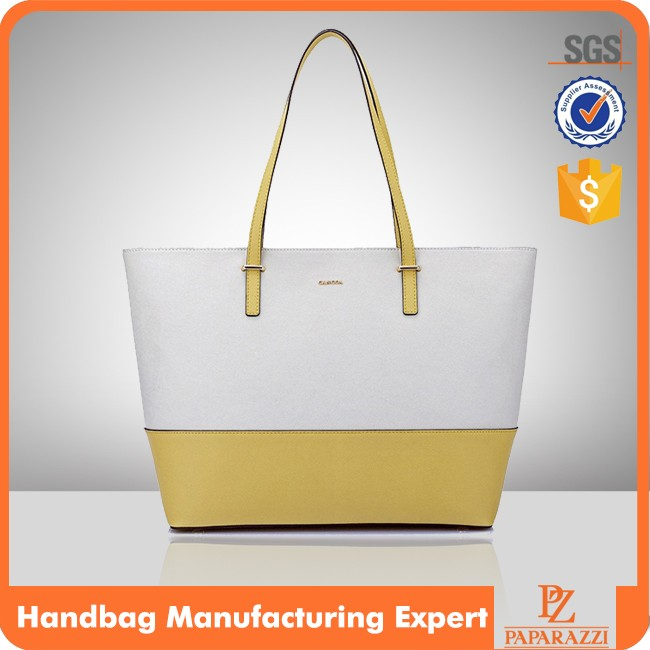 CC2012 -Factory real leather tote bag shopping tote hand bag tas