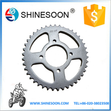motorcycle sprocket for CG125, motorcycle chain and sprocket set ,chain motorcycle
