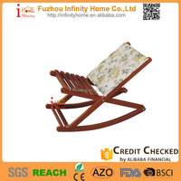 2016 comfortable relax footrest rocking chair for living room