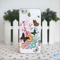 Accessory cellular for i phone 5 case luxury original ebay china Flowers and plants series P-IPH5HC061