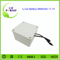 High quality 12v 6600mah rechargeable lithium lawn mower battery