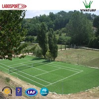 VIVATURF Anti UV Synthetic Turf 16mm 10mm Tennis Court Artificial Grass