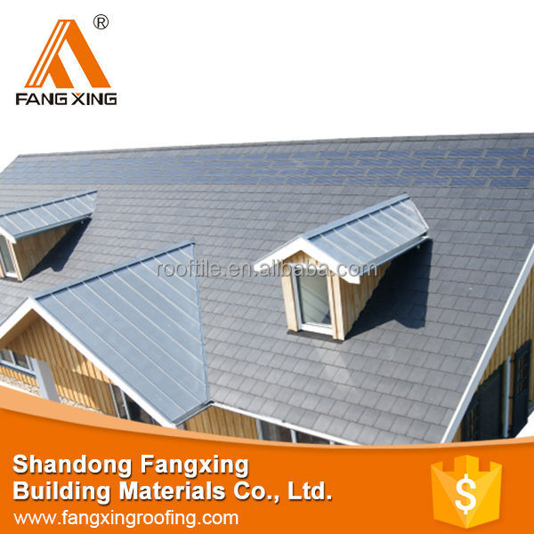Artificial natural stone slate roof tiles pvc roofing