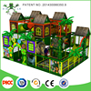 Three Floors Jungle Forest Design Kids Indoor Soft Playground With Roof