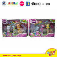 2015 Hot PVC doll My Little Pony Friendship Is Magic lovely cartoon flying horse toys for girls