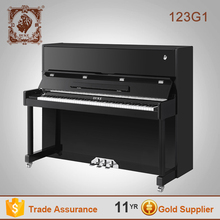 Latest Arrival black upright 88 keys roll up piano