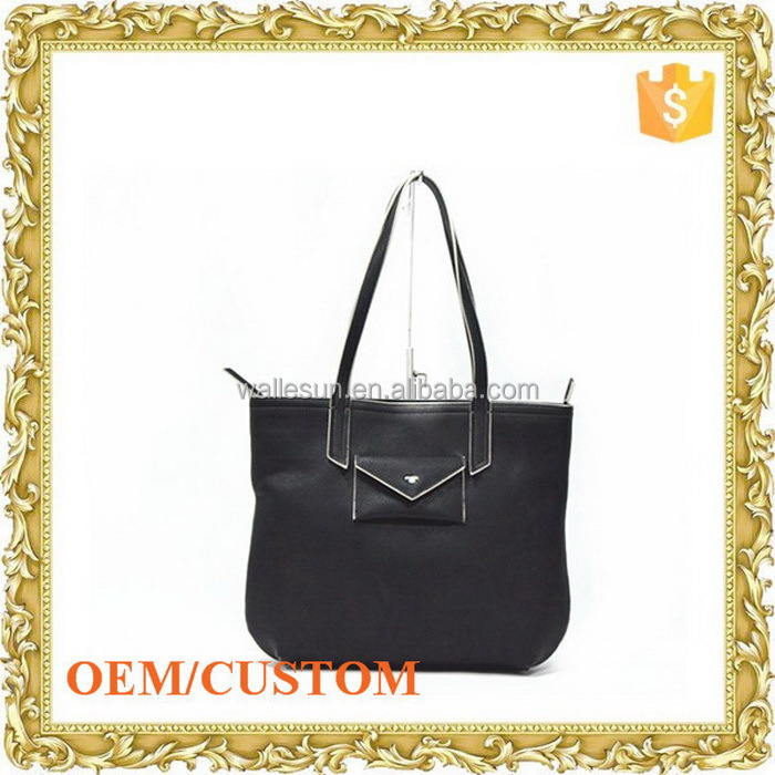 OEM design brand men shoulder bag tote bag leather bag italian