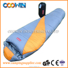 High quality cotton mummy sleeping bag for camping