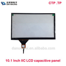 "2015 high technology new product 10.1 inch ""1024*600 capacitive touch screen for GPS"