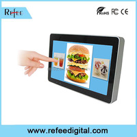 Shopping mall LCD touch screen, wall mount / table stand electronic billboards