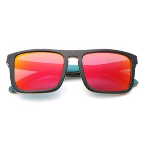 7371639325b Handmade Natural wooden sun glasses Recycled Skateboard Wood Polarized  Sunglasses