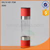 Excellent design glass salt and pepper mill,glass bottle grinder,spice jar with high quality
