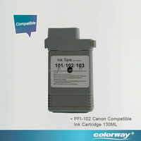cheap price Compatible ink cartridge 130ml Canon PFI-103 for printer iPF5100/6100
