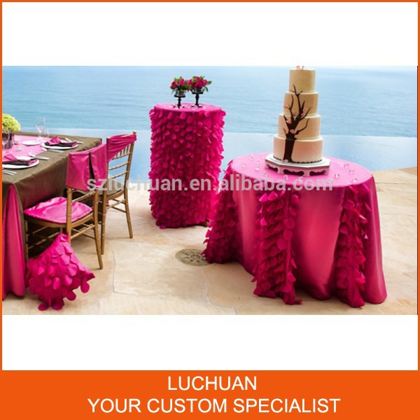 Fancy Custom-made Color Party Table cloth