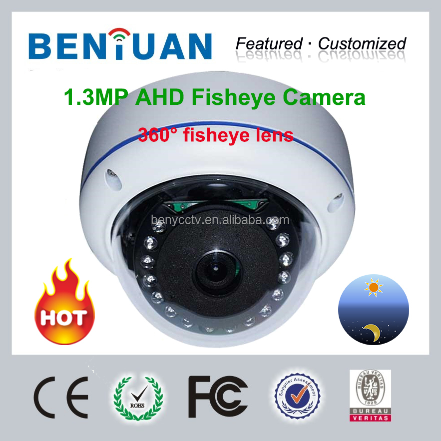 2015 Factory Price AHD Camera, Panoramic Fisheye Camera, 0.0001 lux