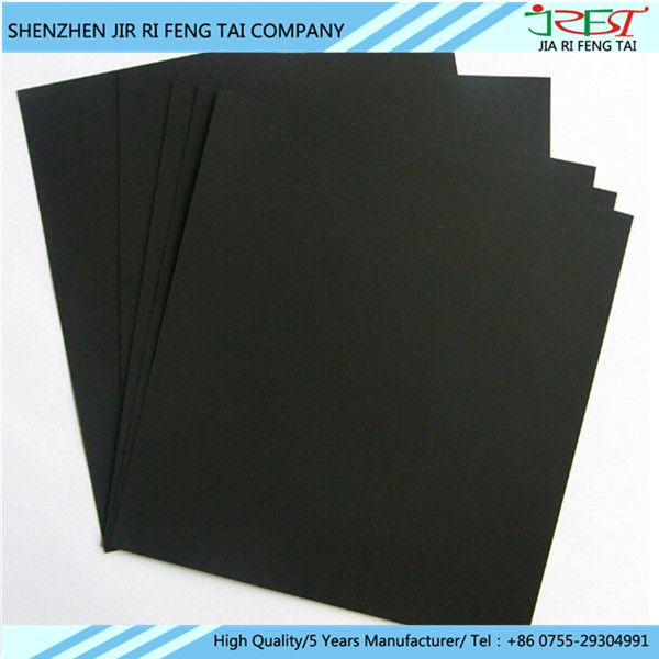 0.08mm Absorbing Materials Flexible Self Adhesive Thin Magnetic Sheet With 13.56MHz Use Frequency