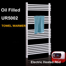 CE certificated wall mounted oil filled electric heater towel rails