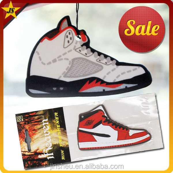 Air Jordan Shoes Scented Paper Car Air Freshener Packaging