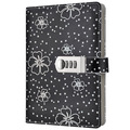 A5 Colorful Custom Printed Secret Diary Leather Notebook with Lock