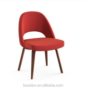 D216 Eero Saarinen Side Chair wooden base