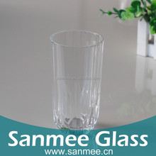High Quality Machine Pressed Glass Cup Crystal White Material Glassware