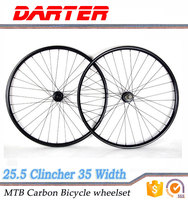 Big promotion keep dynamic balance 28/32h carbon hookless rims carbon bike wheels