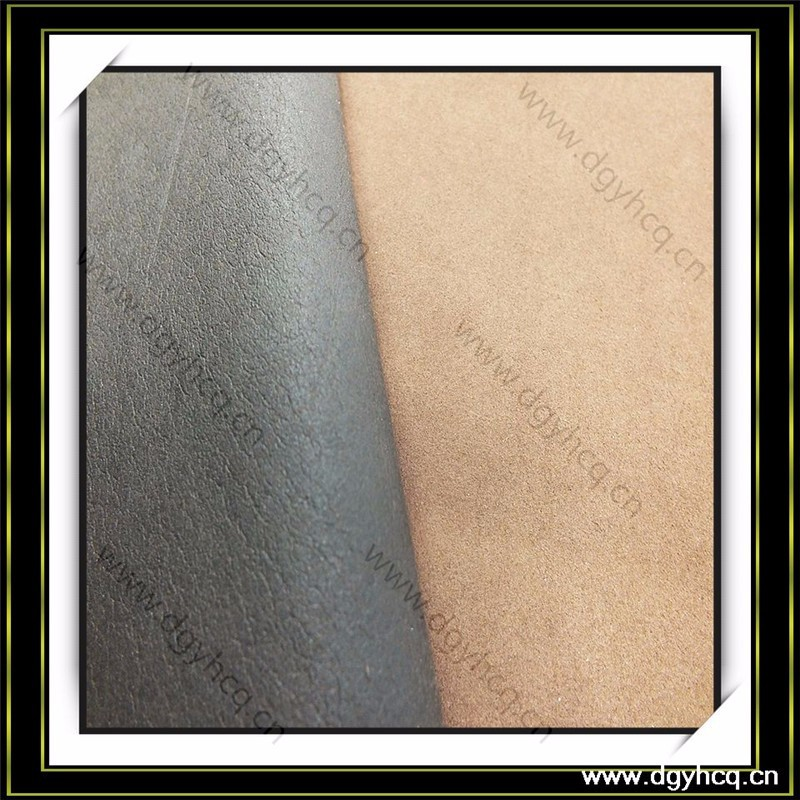 eco friendly breathable 0.7mm shoe lining leather imitation cow split leather