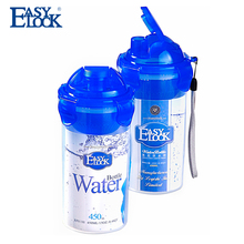 540ml Transparent recyclable plastic sport water bottle