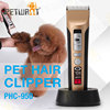 rechargable ceramic dog hair clipper pet grooming products