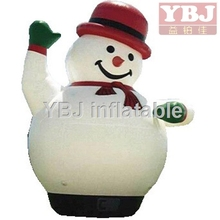 2016 Chinese supplier santa outhouse christmas inflatable decoration/Chrismas cartoon