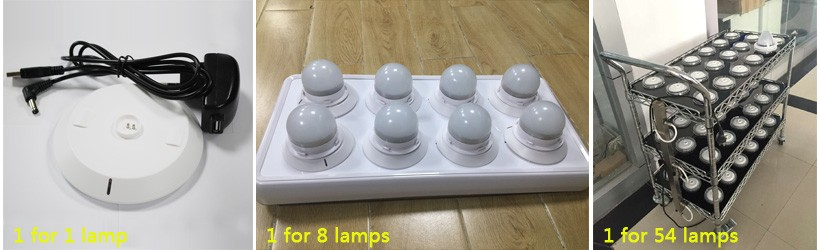 IR/RF Remote Wireless battery operated under table led light wedding table centerpieces for event banquet glass table decoration