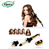 Fast hair straightener with lcd display ceramics private label flat iron styling as seen on tv