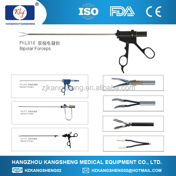 electriferous medical forceps Clamp Surgical Instruments laparoscopic Clamp bipolar coagulation Bipolar coagulation forceps