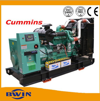 40kW to 300kw Diesel Generator Powered by Cummins Engine Power Generating Genset