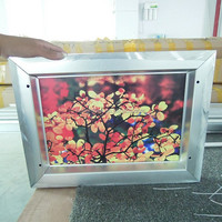 LED outdoor customized waterproof aluminum slim light box