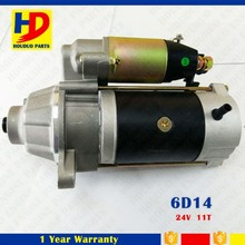 Diesel Engine Spare Parts Of 6D14 Eccentric Starter Motor