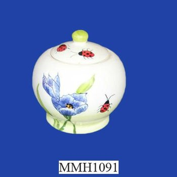 Novelty Cookie Jar With Flower Design Buy Novelty Cookie