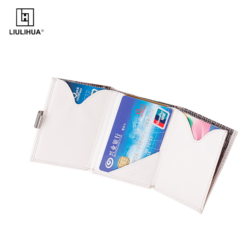 handmade trifold fashion mens slim wallet wholesale ultimate genuine leather card holder mens wallet with money clip